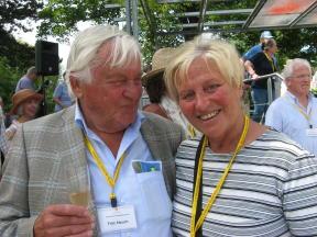 Ehepaar Stauch Erfurter Rosenkongress 2012