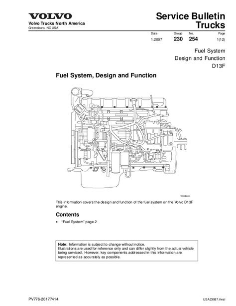 Volvo Truck Engine Diagram | Wiring Diagram