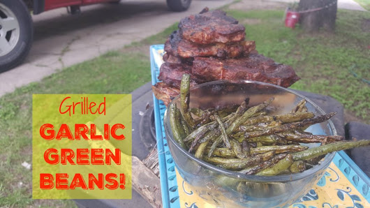 Grilled Garlic Green Beans Recipe! | My Sugar Free Journey