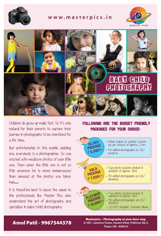 Child Photographer - Photography at your door step