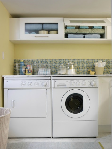Small Laundry Room Ideas {Reader Question} - Satori Design for Living