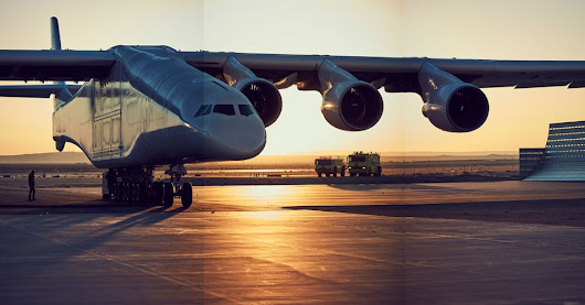 Building Stratolaunch, The Largest Airplane Ever Created | WIRED