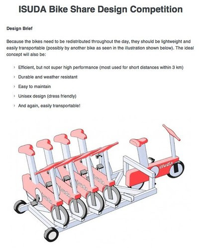 ISUDA Bike Share Design Competition
