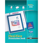 Avery Flexi-View - Display book - 24 compartments - A4 - for 48 sheets - black