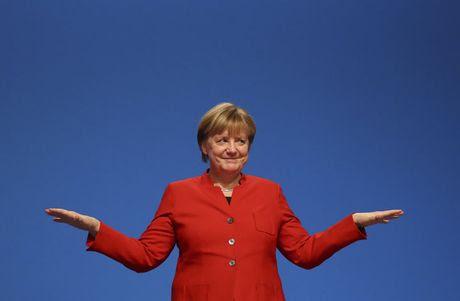Thu tuong Duc Angela Merkel dac cu nhiem ky thu 4 - Anh 1
