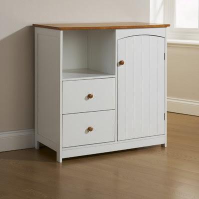 Kitchen or Bathroom Cabinet White Pine Wooden Floor ...