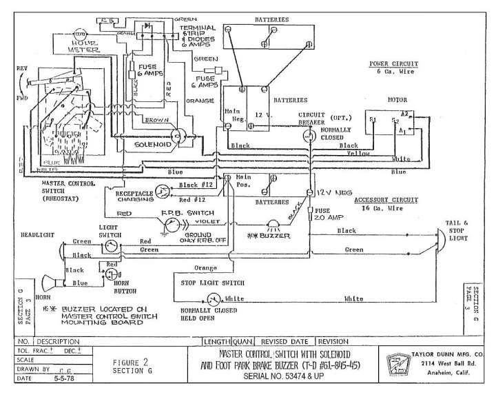 Ezgo Workhorse Wiring Diagram