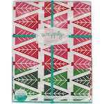 Wrappily Eco Gift Wrap Co. Reversible Wrapping Paper Tannenbaum 6 Sheet(s)