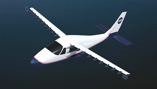 NASA's testing its far-out electric plane concept