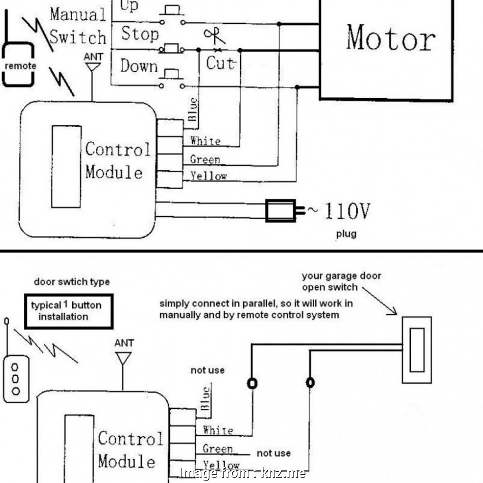 Wiring Diagram For Craftsman Garage Door Opener