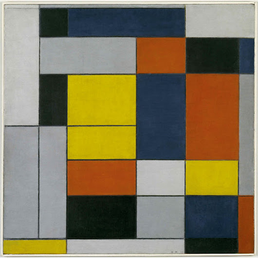 Piet Mondrian: The first digital artist