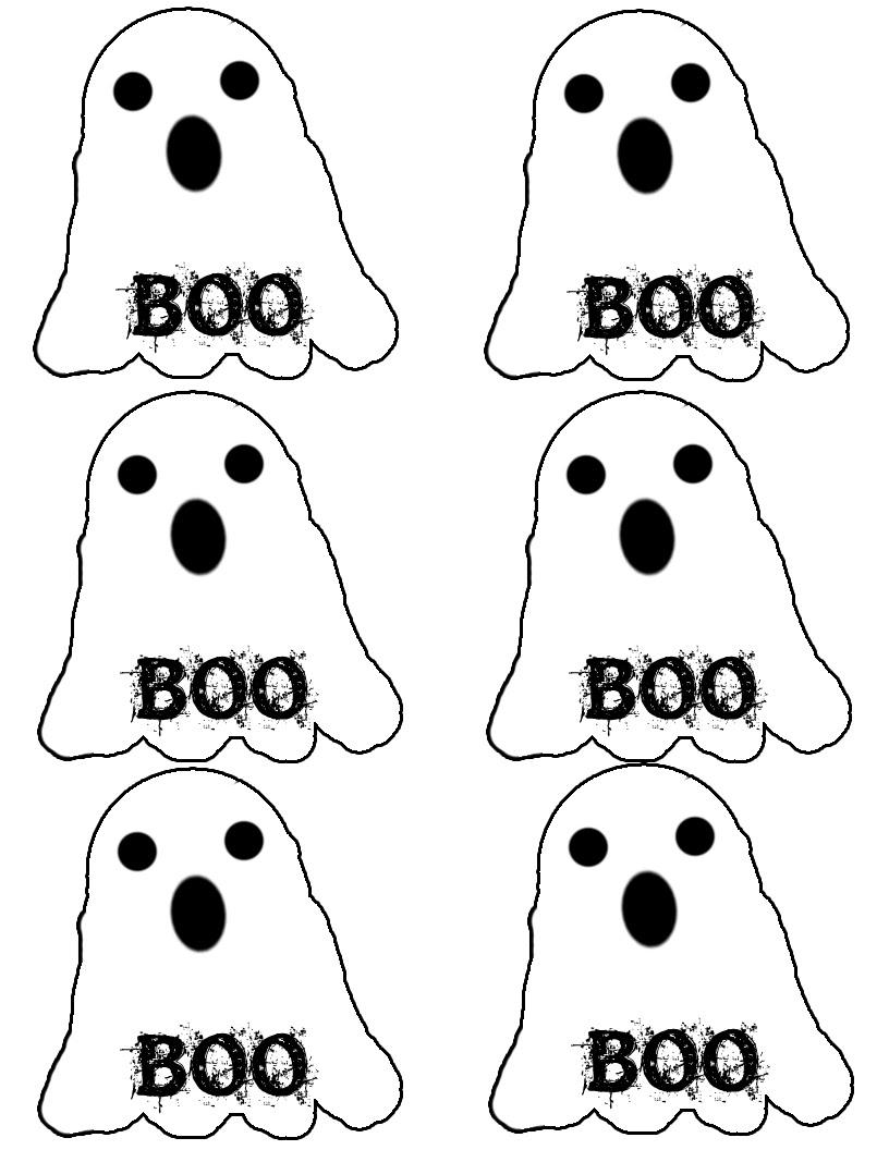 Etiquetas de fantasmas.