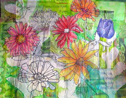 flower fields in progress