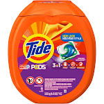 Tide Pods Laundry Detergent Pacs, Spring Meadow - 81 count
