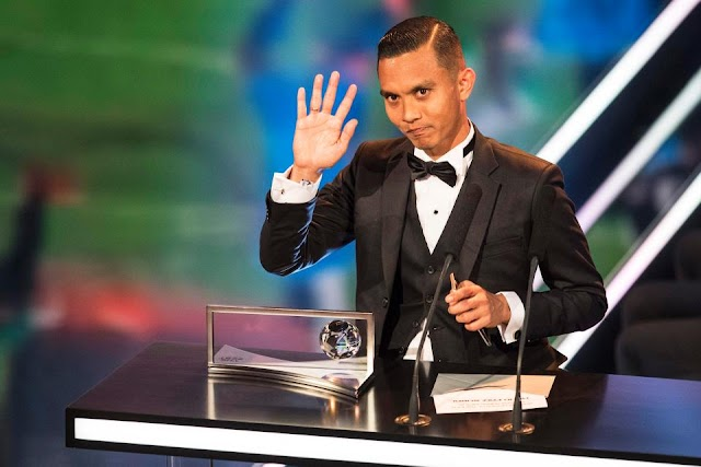 GOAL OF THE SEASON!!! Mohd Faiz Subri wins 2016 Puskas award for goal of the year at FIFA awards event in Zurich