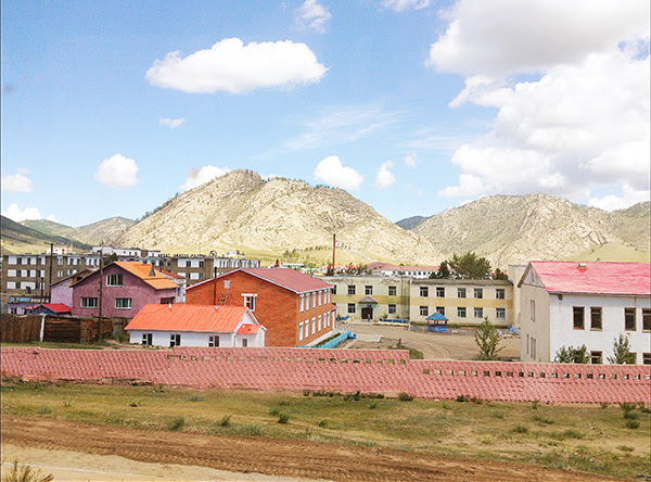 Mongolian city