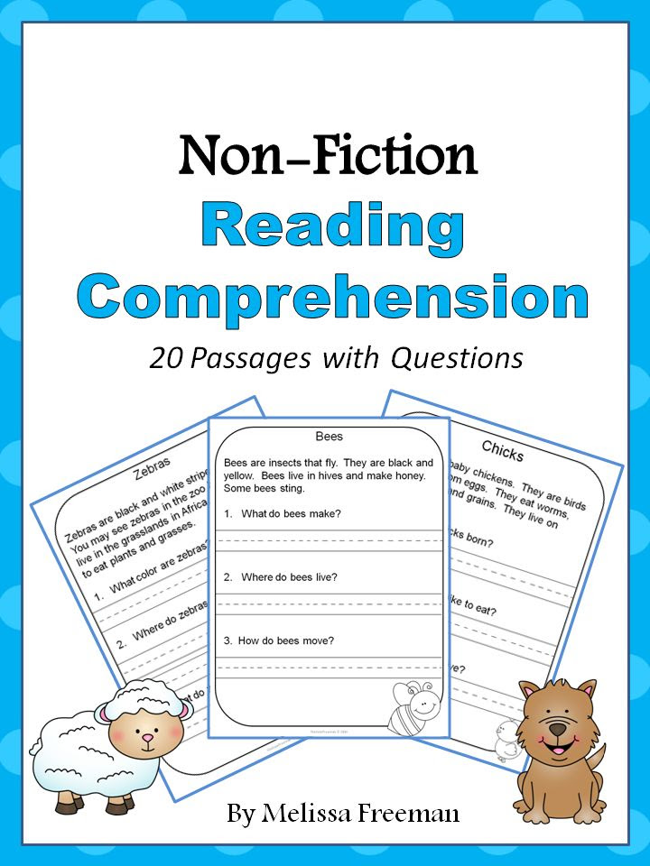 Non Fiction Reading Prehension Passages