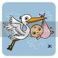 stork'n baby