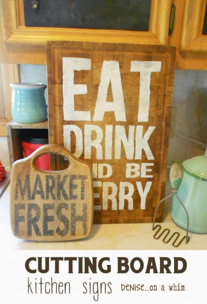 Cutting Board Signs