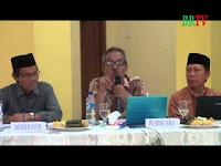Paparan Chaeruddin Razak Arsyad diMudzakarah Isra' Mi'raj di Baiturrahman