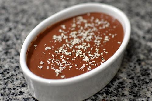 Mexican Chocolate Tofu Pudding