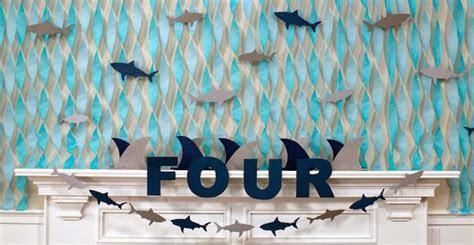 Kara's Party Ideas JAWsome Shark Themed Birthday Party