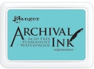 Ranger Archival Ink Pad AQUAMARINE AIP30577