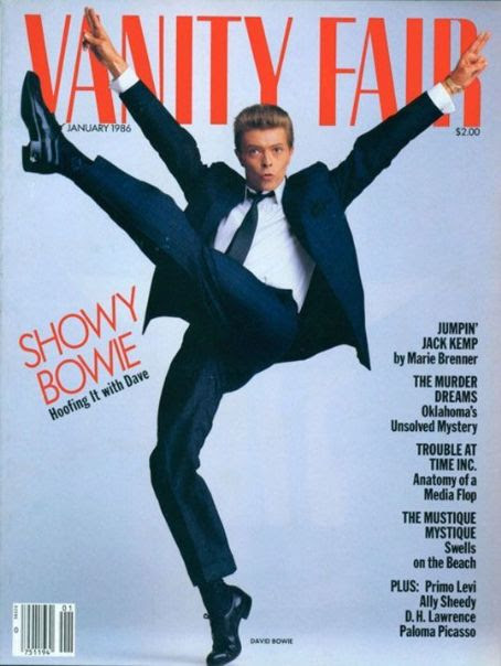 David Bowie - Vanity Fair Magazine Cover [United States] (January 1986)