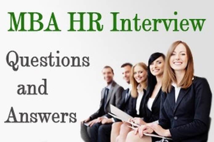 » MBA HR Interview Questions and Answers for Freshers