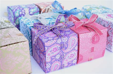 Ribbon favor boxes Perfect for Indian wedding favors, to