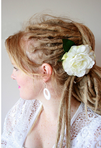 Hair Style Gallery on Blonde Dreadlocks Hairstyle Picture Png