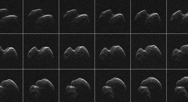 Radar Imagery of Asteroid 2014 JO25
