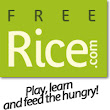 Play online, learn online and feed the hungry | Freerice.com
