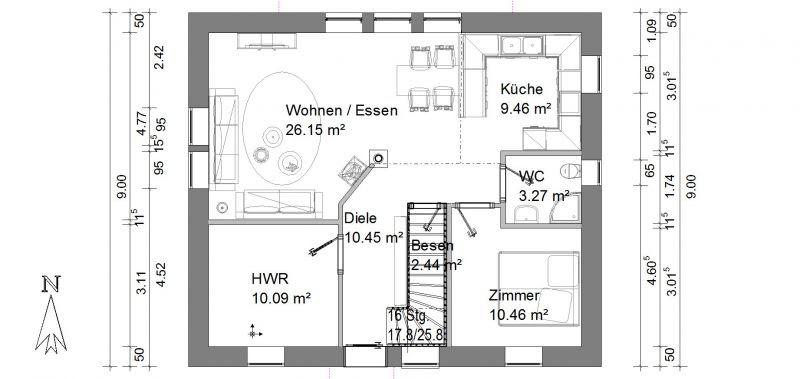 Wohnzimmer Und Kamin Offene K U00fcche Wohnzimmer