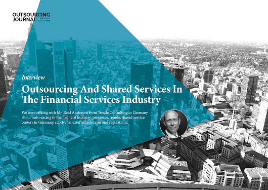 Interview: Outsourcing And Shared Services In The Financial Services Industry | Outsourcing Journal