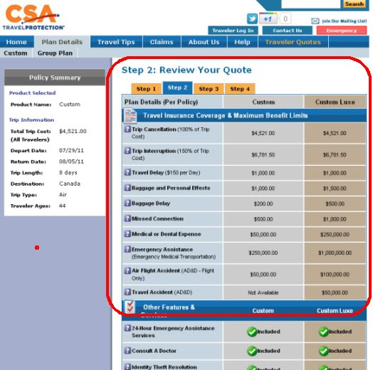 Review of CSA Travel Insurance | Travel Insurance Review