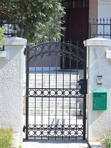 home ideas  simple iron gates design wrought iron