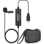 MOVO LV1-UC USB-C Lavalier Lapel Microphone