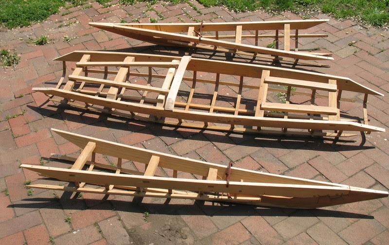 Complete Skin on frame kayak building plans | Step wilson