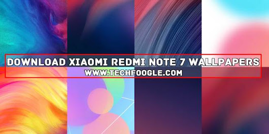 Free Download Redmi Note 7 Stock Wallpapers
