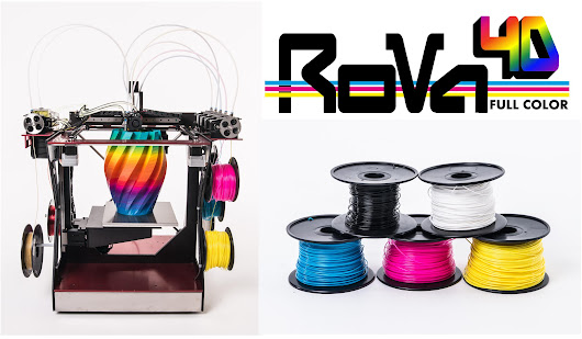 RoVa4D Full Color Blender Kickstarter