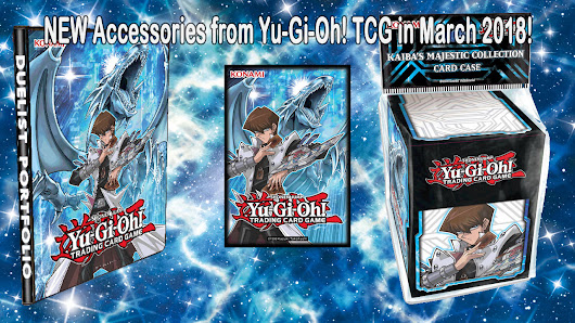 NEW Accessories from Yu-Gi-Oh! TRADING CARD GAME in March 2018! | YuGiOh! World