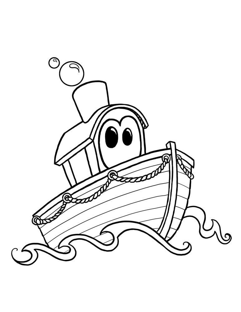 Dibujos Para Colorear Barcos Az Dibujos Para Colorear