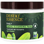 Desert Essence Natural Facial Cleansing Pads with Tea Tree Oil 50 Pad(s)