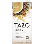 Tazo Chai Natural Spiced Black Tea Latte Concentrate, 32 Ounce