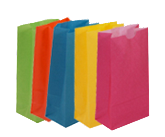 Paper Bags - Colored Lunch Bags - Page 1 - StockPKG