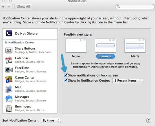 Tips to Avoid Lock Screen Notifications in OS X Mavericks - How To Guide
