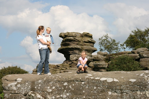 Family @ Brimham Rocks
