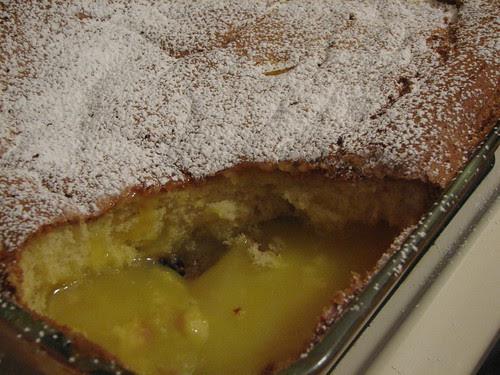 Lemon Self-saucing Pudding