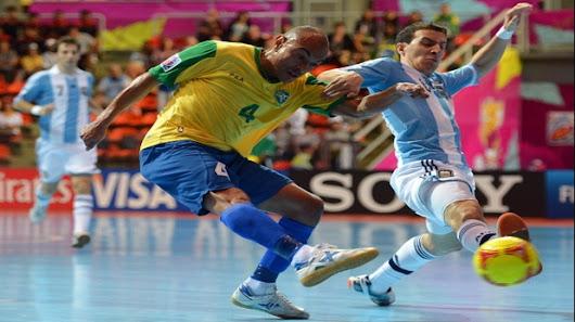 Argentina Vs Brasil: Argentina Vs. Brasil: Por La Copa América De Futsal 2017